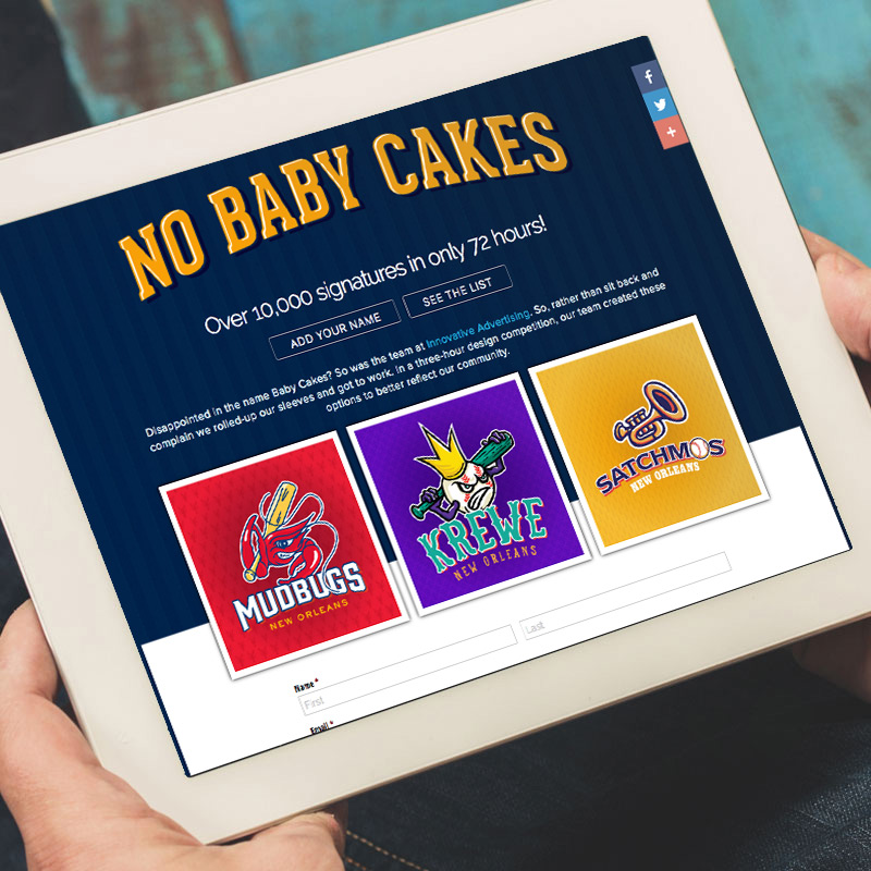 NOLA Baby Cakes Survey