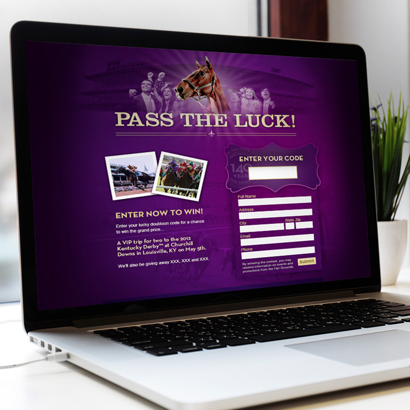 Pass The Luck Website