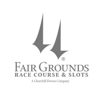 Fairgrounds Race Course and Slots Logo