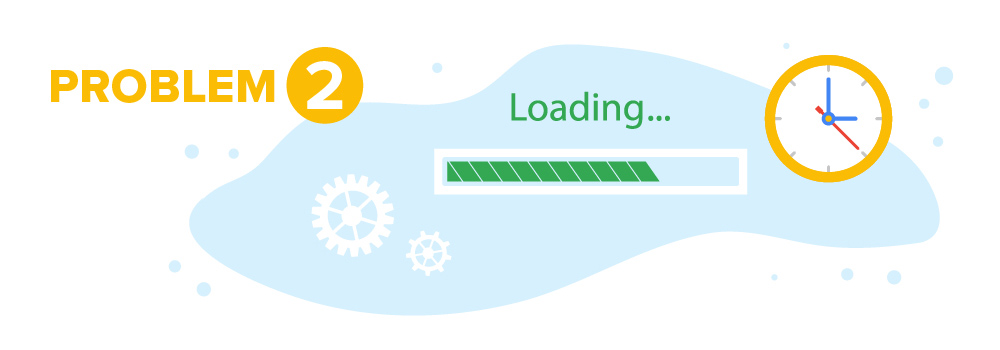 Problem #2 SEO Strategy Loading Time