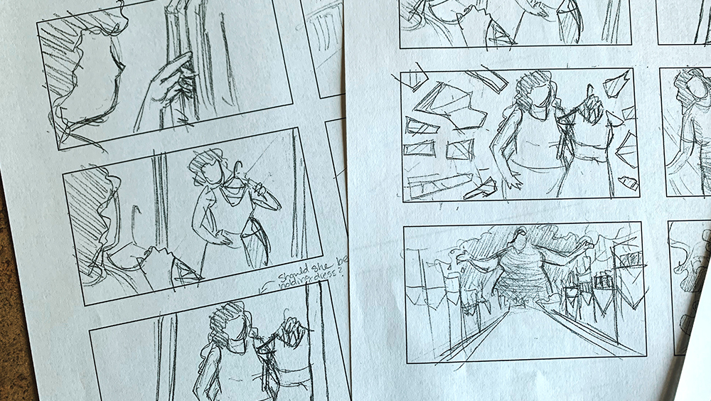 cgi process storyboard